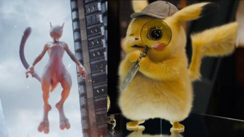 Detective Pikachu trailer surprises us with a Mewtwo appearance