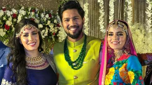 Mehwish Hayat dances her heart out at brother Danish's glitzy, star-studded wedding