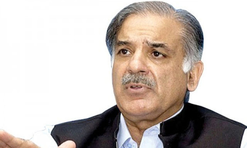 Shahbaz moves LHC against name on ECL