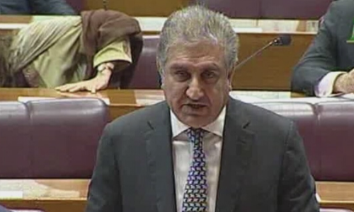 Qureshi not attending OIC's Council of Foreign Ministers after parliament's joint resolution