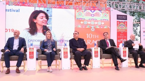 Despite challenges, the Karachi Literature Festival celebrates its 10th year