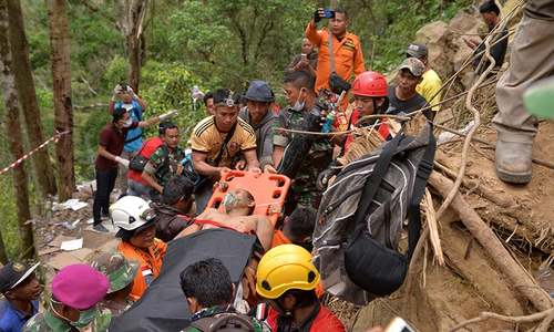 Rescuers hope for miracle as Indonesia mine goes silent