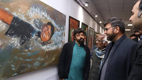 30 contemporary artists display their work in first national exhibition