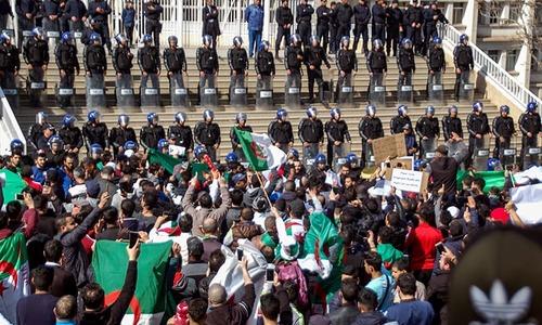 183 injured in Algeria protests; Bouteflika sacks campaign manager