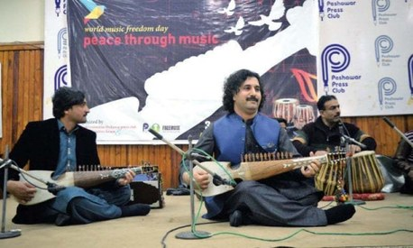 On World Music Freedom Day, Peshawar's artistes plead for government support