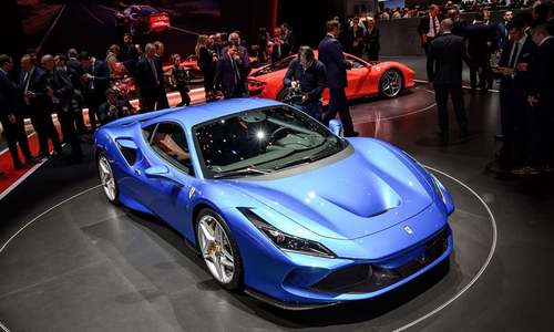 Looking is free: Luxury, high-end rides abundant at Geneva auto show