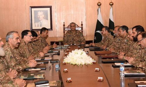 Corps commanders discuss geostrategic situation, NAP implementation