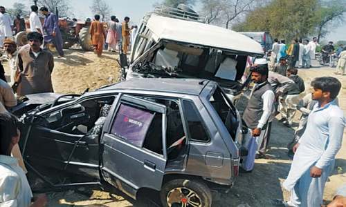 Couple among five die in road accident