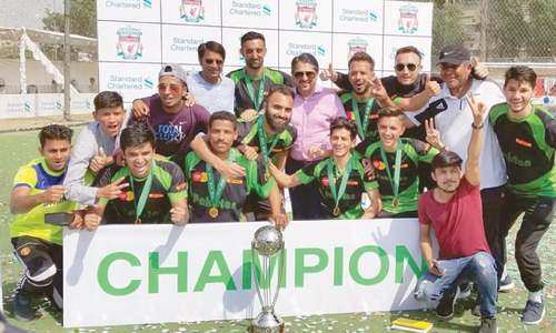 Pakistan representatives finalised for Liverpool event