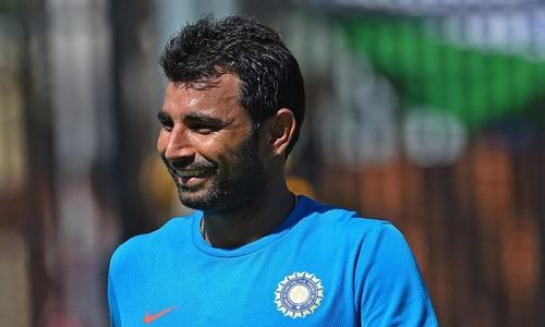 BCCI puts Shami's contract on hold