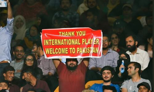 Spirited Karachi fans' response lights up PSL 4