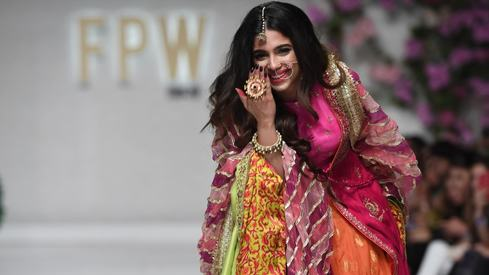 Nomi Ansari and Pink Tree Company brought colour to the ramp on Day 3 of FPW