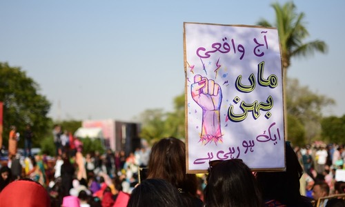 Should feminists claim Aurat March's 'vulgar' posters? Yes, absolutely