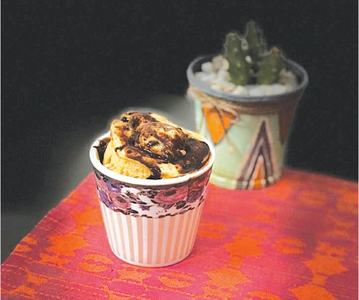 Cook-it-yourself: Chocolate chips mug cake