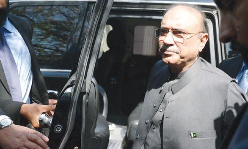 Fake accounts case against Zardari sent to Pindi court