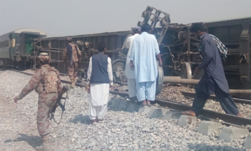 4 killed in Balochistan railway track blast: police