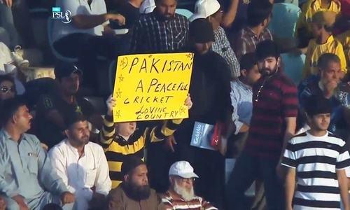نیشنل اسٹیڈیم کراچی میں پی ایس ایل 2019 کی اختتامی تقریب