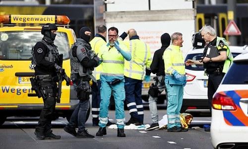 نیدرلینڈ میں ٹرام پر فائرنگ سے متعدد افراد زخمی، ہلاکتوں کا خدشہ