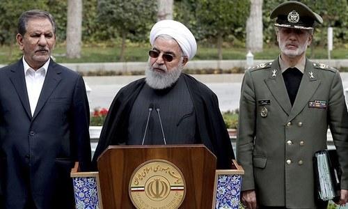 ایرانی عوام امریکا، اسرائیل، سعودی عرب پر غصہ کریں، حسن روحانی