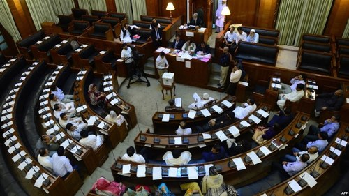 Opposition boycotts poll process for PA's standing committees