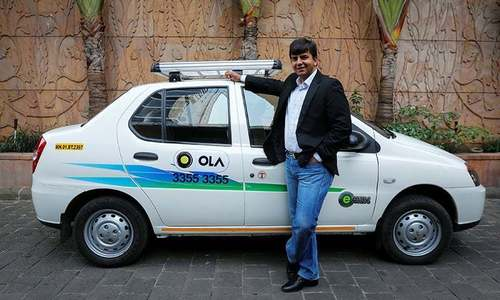 Hyundai invests $300 million to help India's Ola battle Uber