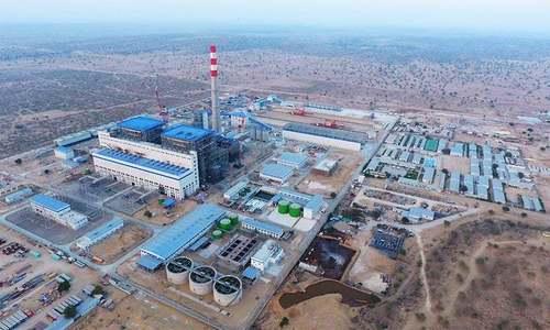 تھر کول منصوبے سے پہلی مرتبہ بجلی کی پیداوار
