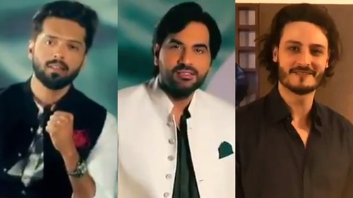 Fahad Mustafa, Humayun Saeed, OKB and more are ready for Pakistan Day