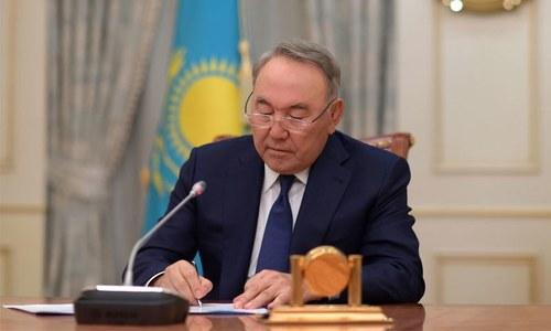 قازقستان کے صدر کا 3 دہائیوں بعد مستعفی ہونے کا اعلان
