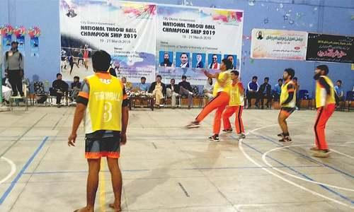 Sindh, Culligan register throwball victories