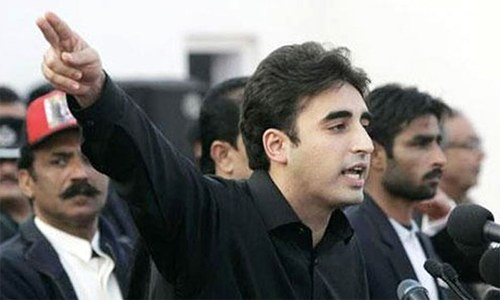 Bilawal's first appearance before NAB today