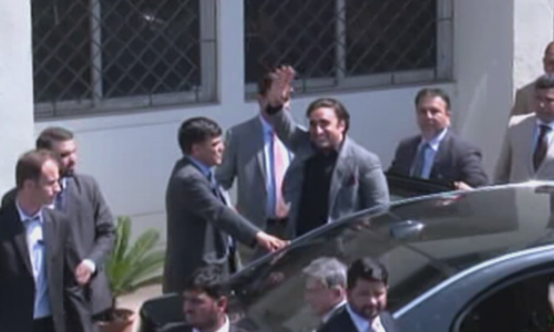 Zardari, Bilawal arrive at NAB Islamabad amid tight security