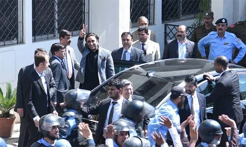 Zardari, Bilawal record statements before NAB Islamabad in Park Lane corruption case