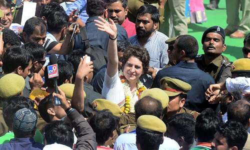 India scion Priyanka Gandhi lambasts Modi on home turf
