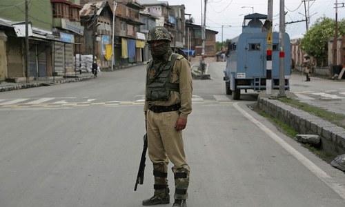 مقبوضہ کشمیر میں نوجوان استاد کے دوران حراست قتل پر مکمل ہڑتال