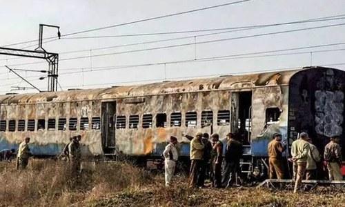 بھارت: سمجھوتہ ایکسپریس دھماکے کے چار ملزمان عدالت سے بری