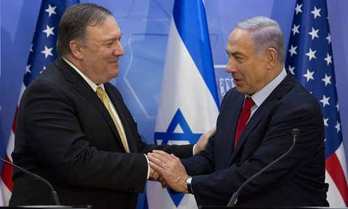 Netanyahu, Pompeo vow to counter Iranian 'aggression'