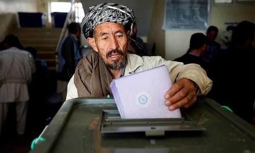 افغان صدارتی انتخاب میں دوسری مرتبہ تاخیر کا اعلان