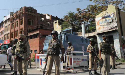 Indian soldier kills three comrades in occupied Kashmir