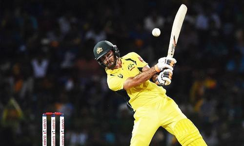 Sick Maxwell in doubt for Pakistan opener
