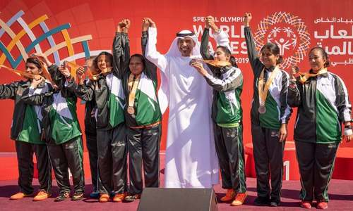 Medals galore for Pakistani athletes at Special Olympics Summer Games