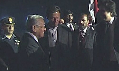 Malaysian PM Mahathir arrives for 3-day visit to Pakistan
