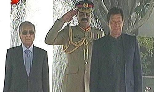 مہاتیر محمد کی وزیر اعظم ہاؤس آمد، گارڈ آف آنر پیش کیا گیا