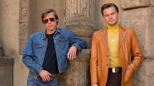 Brad Pitt is Leonardo DiCaprio's stunt double in Once Upon a Time in Hollywood