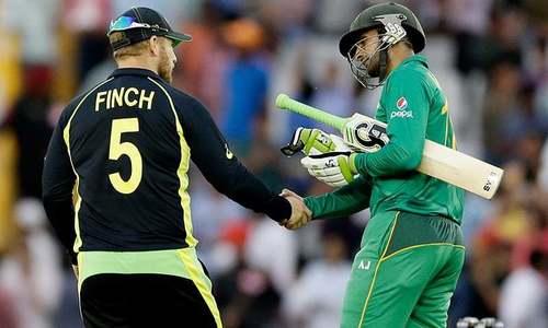 پاکستان کا آسٹریلیا کیخلاف ٹاس جیت کر بیٹنگ کا فیصلہ