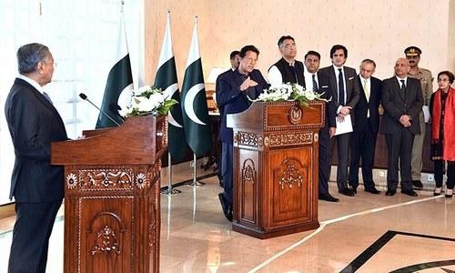 پاکستان، ملائیشیا کا 5 'بڑے منصوبوں' کے لیے مفاہمتی یادداشت پر دستخط