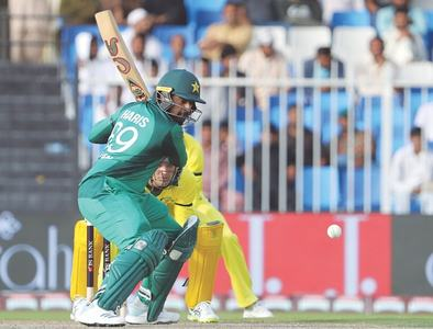 Haris' maiden hundred lifts Pakistan to 280-5