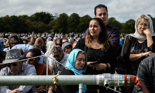 In pictures: Defiance, tears and joy as New Zealand unites a week after mosques massacre