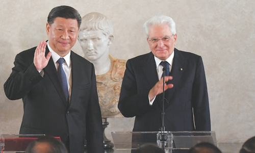 Xi insists new Silk Road runs both ways as Italy signs up