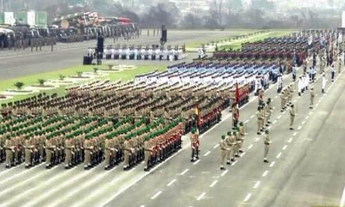 Pakistan Day celebrations: Military parade begins in Islamabad