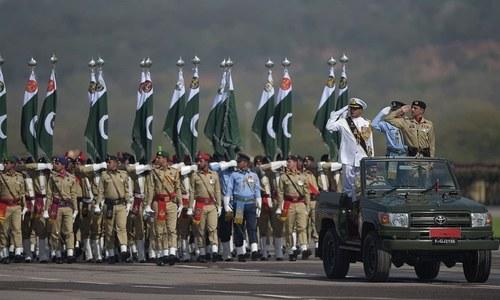 یوم پاکستان: مسلح افواج کی شاندار پریڈ، غیرملکی دستوں کی بھی شرکت